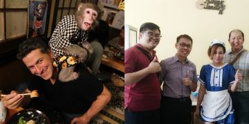 6 Restoran dengan pelayan aneh di berbagai negara, janda sampai kera