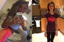 10 Potret Emily Brand, cewek berbadan kekar yang dulu idap anoreksia