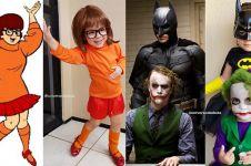 Balita pakai kostum tokoh film terkenal, 8 hasilnya bikin gemes