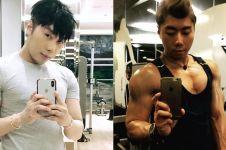 10 Gaya Roy Kiyoshi pamer otot, gagah dan macho