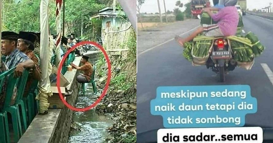 10 Foto lucu santai ala orang Indonesia ini bikin ngakak