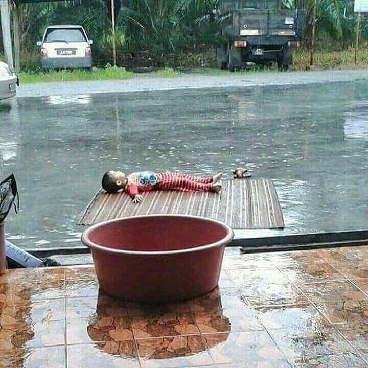 santai ala orang indonesia © Instagram