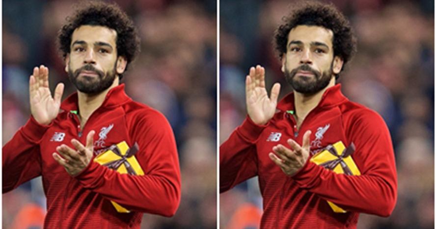 Viral patung Mohamed Salah yang absurd & bikin gagal paham