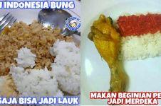 25 Meme lucu makanan orang Indonesia bikin ngakak tepuk jidat