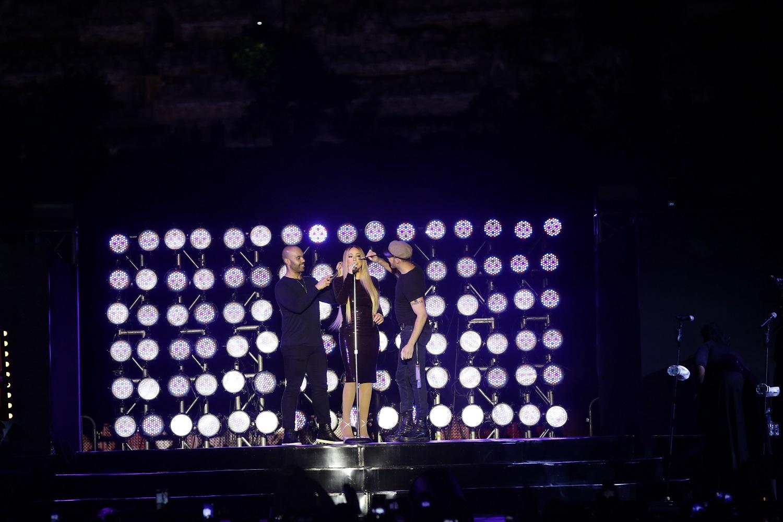 Mariah Carey pukau penonton lewat konser megah di Borobudur
