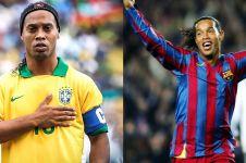 4 Fakta Ronaldinho yang kini bangkrut, isi rekeningnya miris