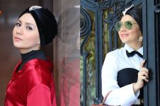 10 Inspirasi turban ala Viona Rosalina, istri Eko Patrio yang memesona