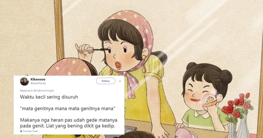 10 Cuitan lucu 'gara-gara masa kecil' ini bikin nyengir