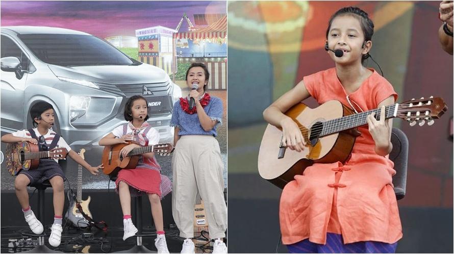 15 Aksi dua anak Widi Mulia saat bermusik, berbakat sejak kecil