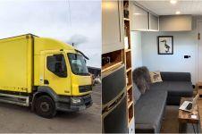 Pria ini ubah truk bekas jadi rumah, 17 fotonya bikin kagum