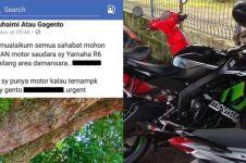 Bawa kabur motor sport, pencuri ini ungkap alasan lewat surat