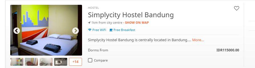 30 penginapan bandung booking.com