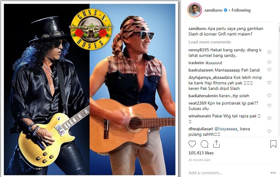 sandi slash ©Instagram/@sandiuno