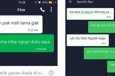 12 Chat lucu driver ojek online bikin penumpangnya jadi kesel