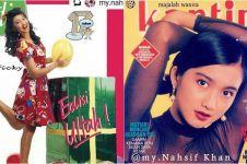 25 Potret Desy Ratnasari jadi cover majalah jadul, epik banget