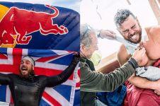 10 Potret dramatis Ross Edgley, 5 bulan berenang keliling Inggris