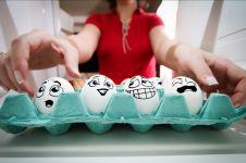 10 Kreasi lucu dari telur ini unik banget