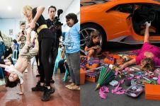 8 Momen lucu Jessica Iskandar & El Barack, aksinya bikin gemes