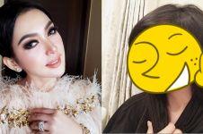 7 Wajah Syahrini tanpa makeup, jauh dari kesan glamor