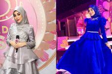 10 Gaya busana Uyaina Arshad, host Dangdut Academy yang memesona