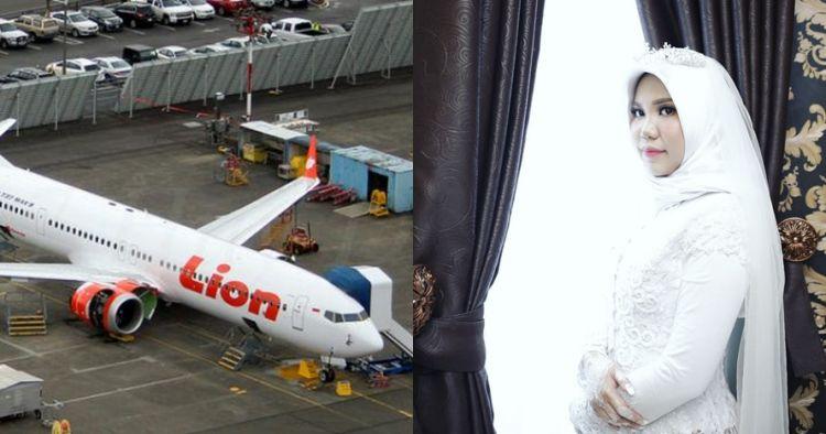 Pesan korban Lion Air JT 610 ke calon istri diwujudkan, haru