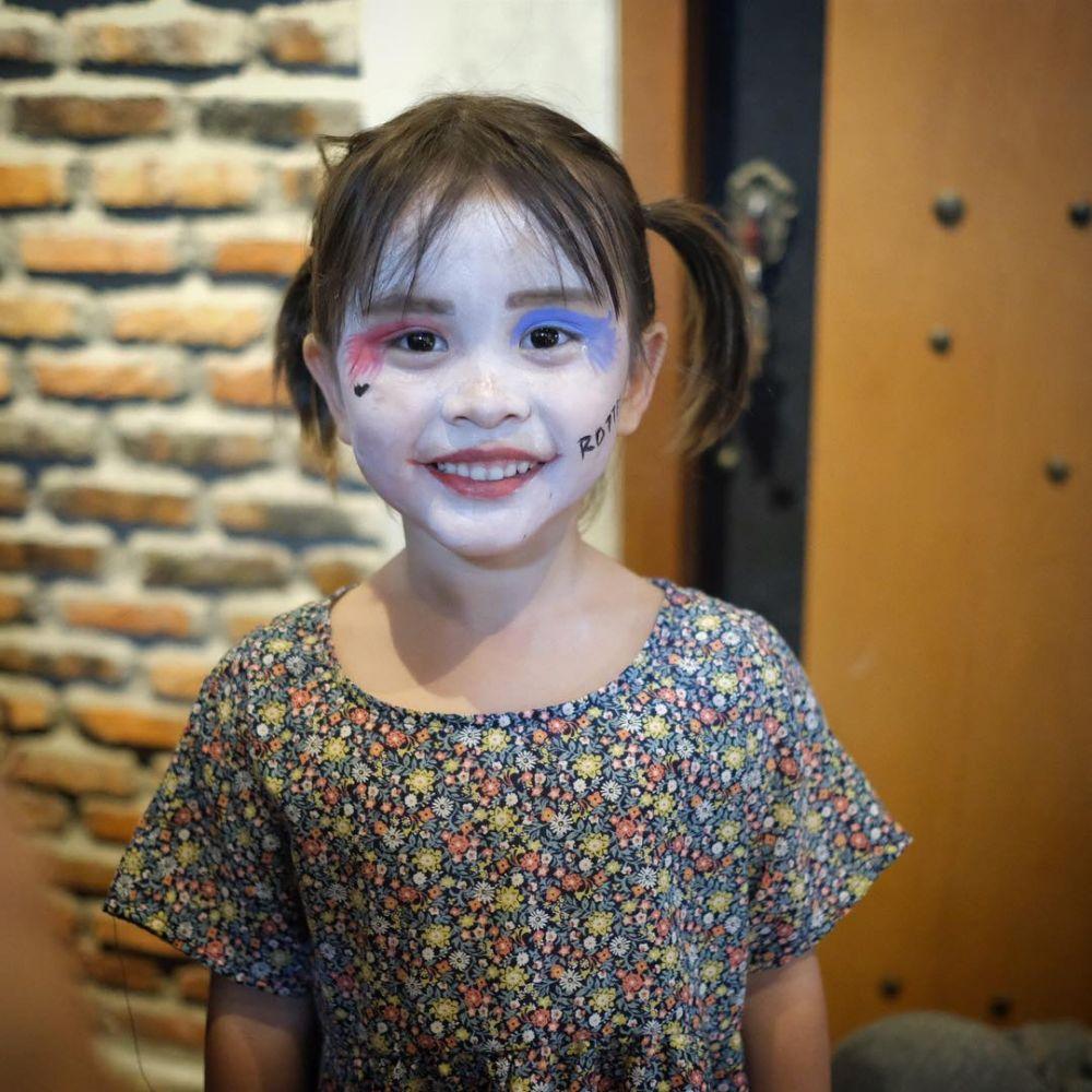 makeup anak zaskia © 2018 brilio.net