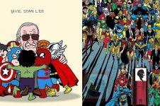 16 Momen kenangan Stan Lee berperan dalam Film Marvel