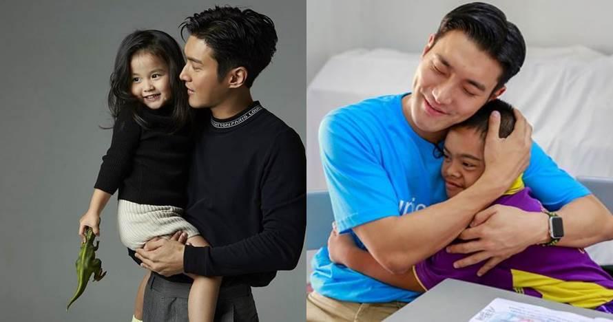 10 Momen Siwon Super Junior bareng anak kecil, ayah idaman