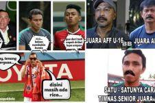 9 Meme lucu Indonesia kalahkan Timor Leste bikin ikut geregetan