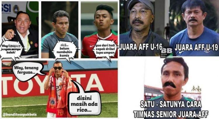 9 Meme lucu Indonesia kalahkan Timor Leste bikin ikut ...