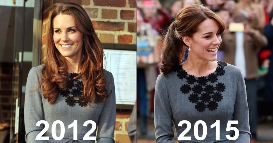 15 Bukti Kate Middleton pakai busana yang sama lebih dari sekali