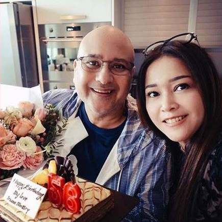 Ungkapan Maia Estianty di ulang tahun suaminya, so sweet banget