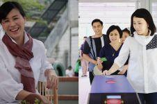 4 Potret terbaru Veronica Tan saat nonton film A Man Called Ahok