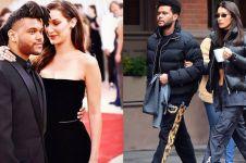 15 Potret mesra Bella Hadid & The Weeknd, pasangan putus sambung