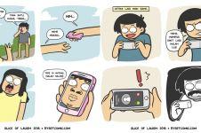 17 Komik strip lucu gambarkan tingkah konyol generasi milenial