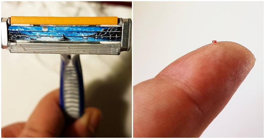 30 Gambar keren di benda mungil ini detailnya menakjubkan