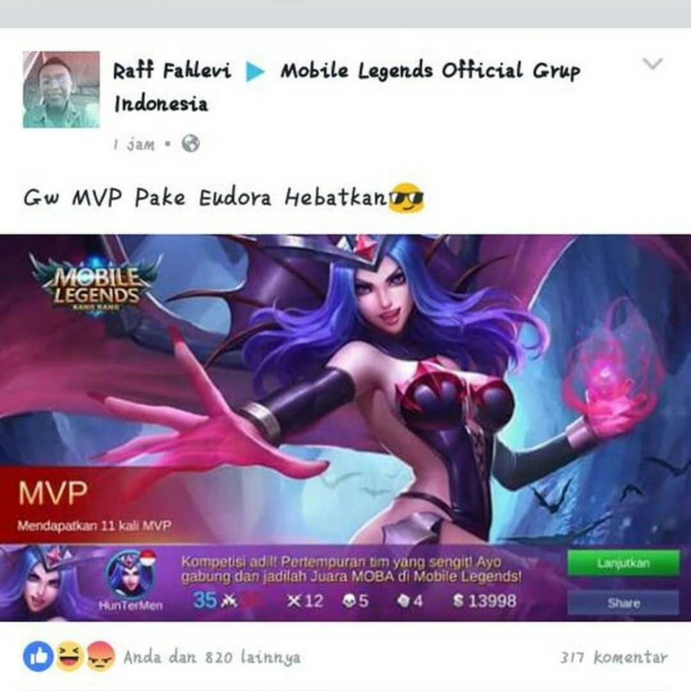 Meme mobile legend 2018 berbagai sumber