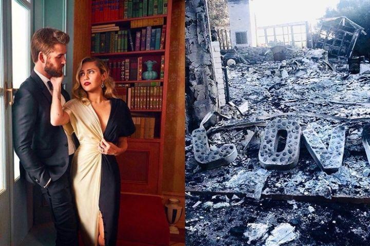 Kondisi rumah 10 seleb Hollywood korban kebakaran California