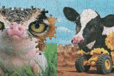 15 Karya seni unik potongan puzzle ini detailnya menakjubkan