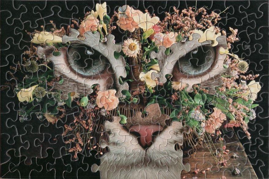 potongan puzzle Tim Klein © 2018 brilio.net