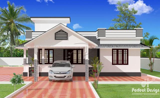Desain rumah minimalis 3 kamar © 2018 brilio.net