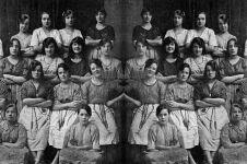 Penampakan hantu di foto era 1900-an ini nakutin, kamu bisa temukan?