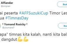 10 Cuitan lucu respons hasil buruk Indonesia melawan Thailand