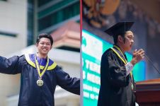 7 Tahun lebih kuliah, Bayu Skak lulus & pidato makna 'Yowis Ben'