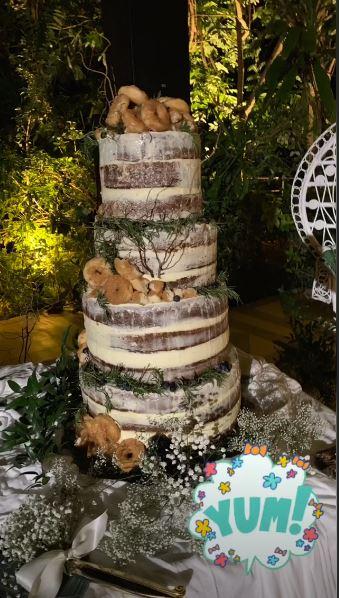 Bikin melongo, kue pernikahan Christian Bautista ini unik abis istimewa