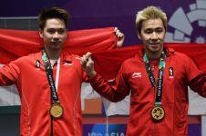 9 Gelar juara Marcus/Kevin tahun 2018, terbaru Hongkong Open