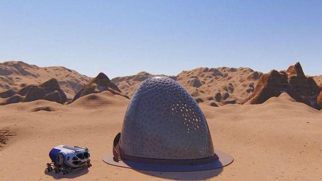 Planet Mars menyelamatkan manusia dari kepunahan, apa bisa?