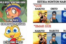 40 Meme anime ini lucunya bikin mikir dulu sebelum ketawa