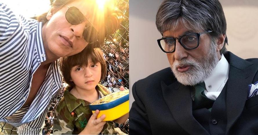 Lucu, anak Shah Rukh Khan sebut Amitabh Bachchan adalah kakeknya