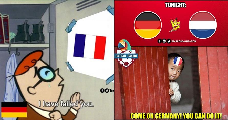 8 Meme lucu Timnas Belanda bikin malu Jerman, bikin ngakak